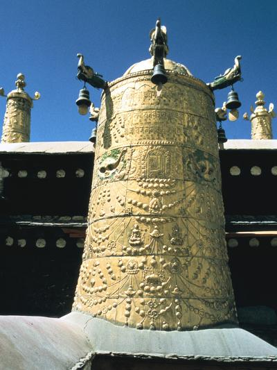 Roof Detail, Jokhang Temple, Lhasa, Tibet-Vivienne Sharp-Photographic Print