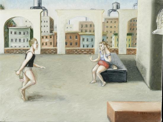 Rooftop Annunciation, 5, 2005-Caroline Jennings-Giclee Print