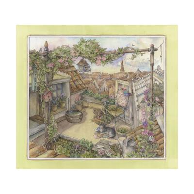 Rooftop Garden-Kim Jacobs-Giclee Print