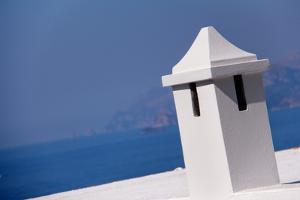 Rooftop in Amalfi Italy Overlooking Mediterranean