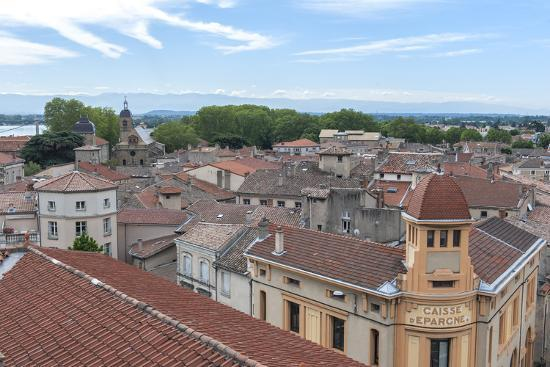 Rooftop view, Tournon, France-Lisa S^ Engelbrecht-Photographic Print
