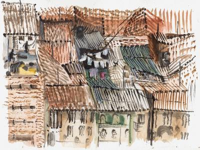 Rooftops, Bogota-Mary Kuper-Giclee Print