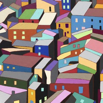 Rooftops I-Nikki Galapon-Art Print