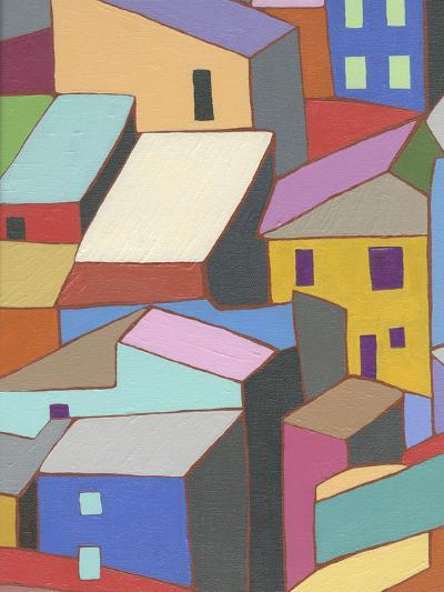 Rooftops in Color II-Nikki Galapon-Art Print