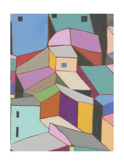 Rooftops in Color VIII-Nikki Galapon-Art Print