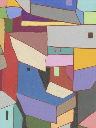 Rooftops in Color X-Nikki Galapon-Art Print