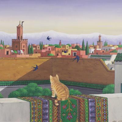 Rooftops in Marrakesh, 1989-Larry Smart-Giclee Print