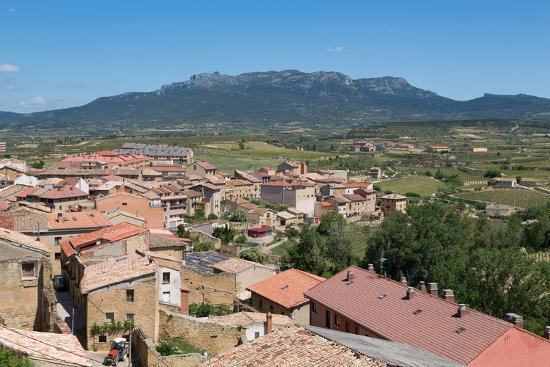 Rooftops in San Vicente De La Sonsierra, La Rioja, Spain, Europe-Martin Child-Photographic Print
