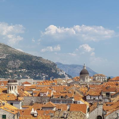 Rooftops of the Old Town, UNESCO World Heritage Site, Dubrovnik, Dalmatia, Croatia, Europe-Charlie Harding-Photographic Print