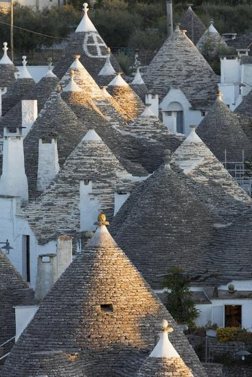 Rooftops of Traditional Trullos (Trulli) in Alberobello-Martin-Photographic Print