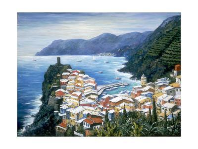 Rooftops of Vernazza-Marilyn Dunlap-Photographic Print