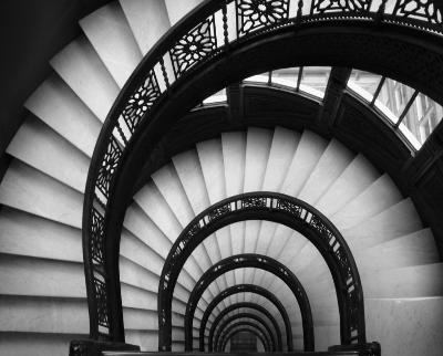 Rookery Stairwell-Jim Christensen-Art Print