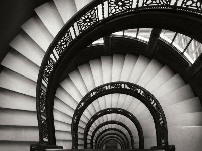 Rookery Stairwell-Jim Christensen-Photographic Print