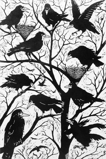 Rooks, 1998-Nat Morley-Giclee Print