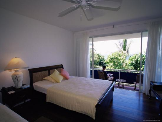 Room at the Blue Heaven Hotel, the Island's Top Hotel, Tobago-Yadid Levy-Photographic Print