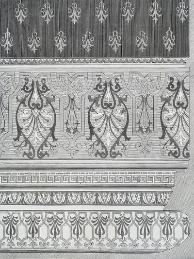 Room Decoration from Arts and Crafts Guide, England, 19th Century--Giclee Print