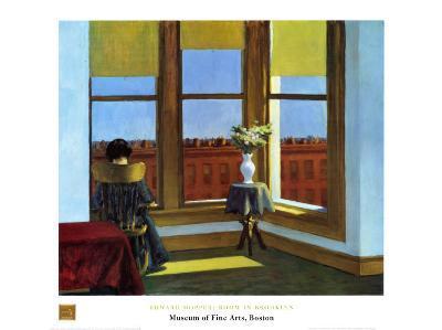 Room In Brooklyn-Edward Hopper-Art Print