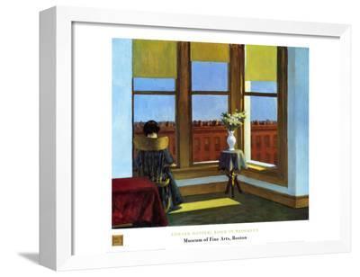 Room In Brooklyn-Edward Hopper-Framed Canvas Print