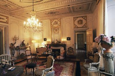Room in Chateau of Filain, Franche-Comte, France--Photographic Print