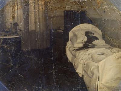 Room in the Mariinskaya Hospital Where Fyodor Kokoshkin Was Murdered, Petrograd, Russia, 1918--Giclee Print