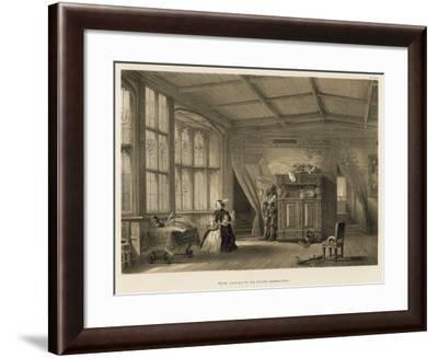 Room Leading to the Chapel, Knowle, Kent-Joseph Nash-Framed Giclee Print