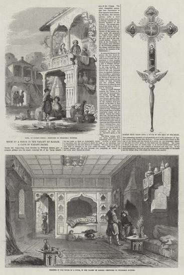 Room of a Mirza in the Valley of Baidar, a Cafe in Karasu-Bazar--Giclee Print