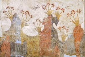 Room of Lilies or Spring, Akrotiri Fresco, Thera