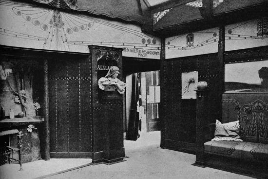'Room of the Prague School of Arts and Crafts, St. Louis', 1905-Unknown-Photographic Print