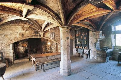 Room with Cross Vault, Chateau Ofs Bories, 16th-17th Century, Aquitaine, France--Photographic Print