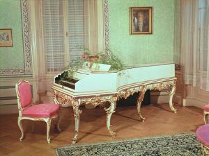 Room with the Harpsichord Used by Mozart in Prague