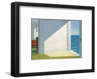 Rooms by the Sea-Edward Hopper-Framed Art Print