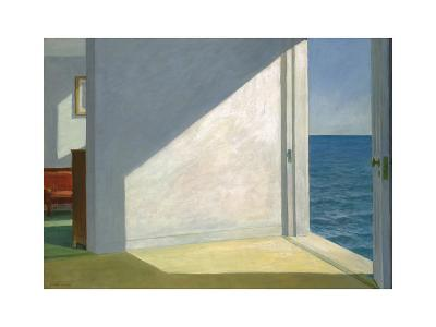 Rooms by the Sea-Edward Hopper-Art Print