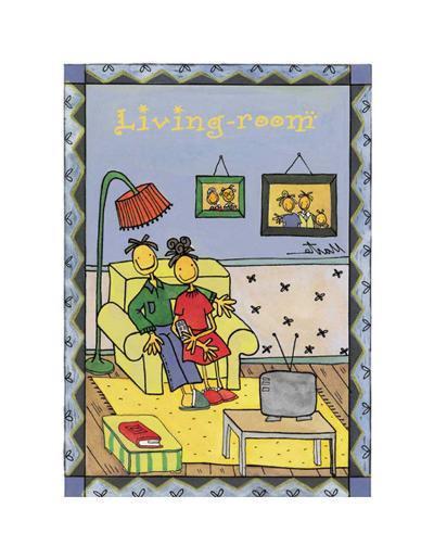 Rooms, Living Room-Marta Arnau-Art Print