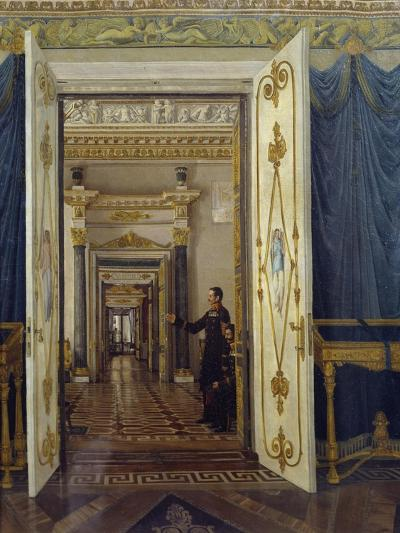 Rooms of Maria Feodorovna in Winter Palace in St Petersburg--Giclee Print