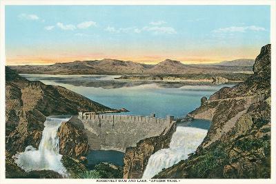 Roosevelt Dam, Apache Trail--Art Print