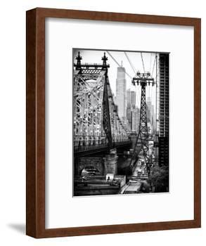 Roosevelt Island Tram and Ed Koch Queensboro Bridge (Queensbridge) Views, Manhattan, New York-Philippe Hugonnard-Framed Photographic Print