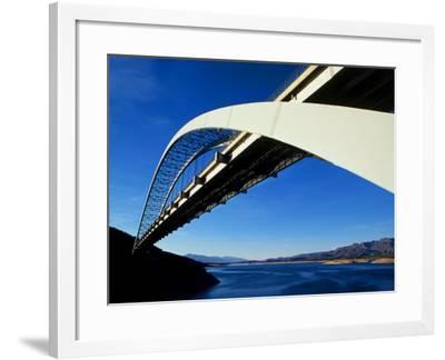 Roosevelt Lake Bridge, Arizona, USA--Framed Photographic Print