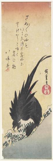 Rooster, Early 19th Century-Utagawa Hiroshige-Giclee Print
