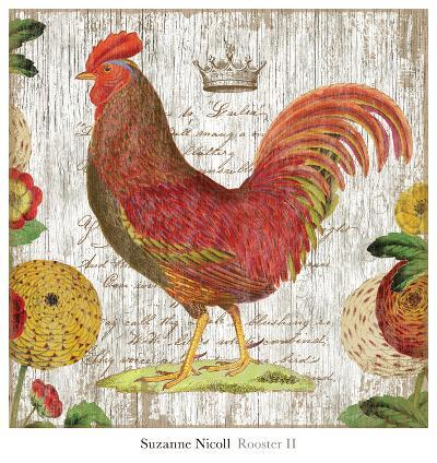 Rooster II-Suzanne Nicoll-Art Print