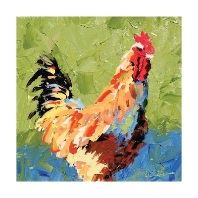 Rooster II-Leslie Saeta-Art Print