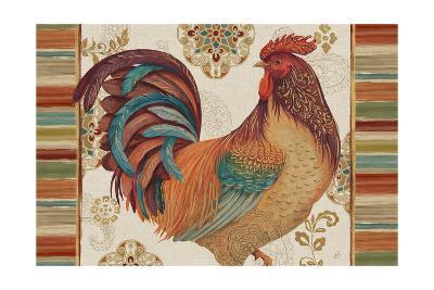 Rooster Rainbow IVA-Daphne Brissonnet-Art Print