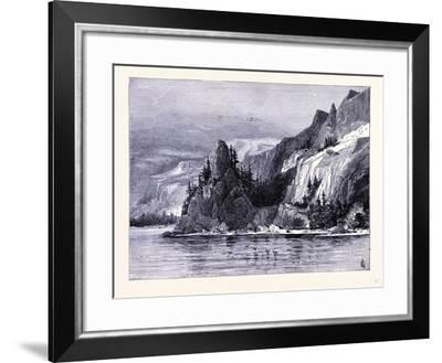 Rooster Rock United States of America--Framed Giclee Print