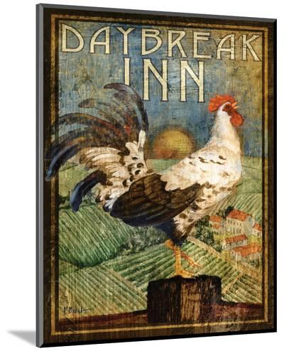 Rooster Sign I-Paul Brent-Mounted Print