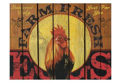 Rooster Time-Melody Hogan-Art Print