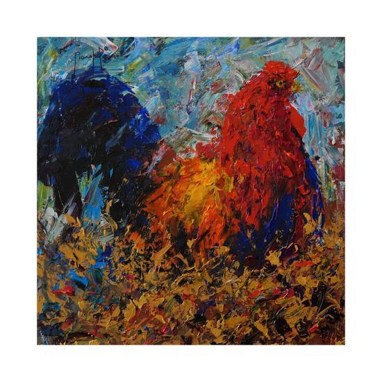 Rooster-Joseph Marshal Foster-Giclee Print