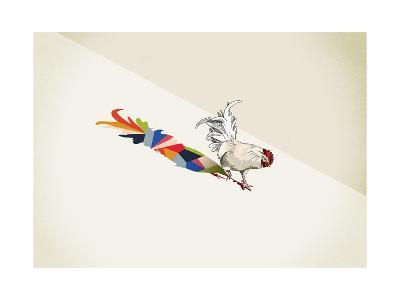Rooster-Jason Ratliff-Giclee Print