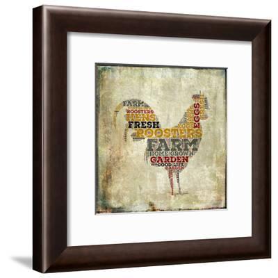 Roosters-Brandi Fitzgerald-Framed Art Print