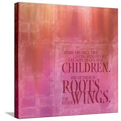 Roots Wings-Janis Boehm-Stretched Canvas Print