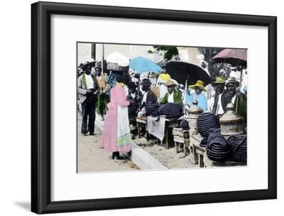 Rope Tobacco Sellers, Jamaica, C1900s