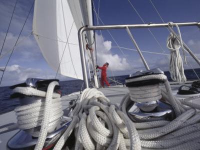 Ropes on a Sailboat